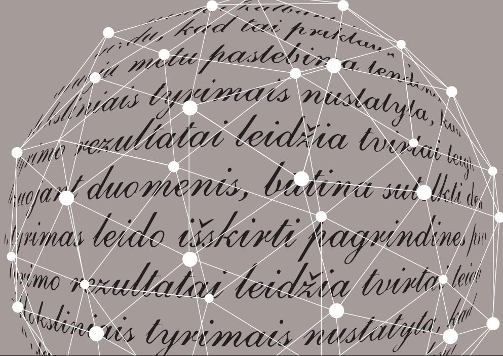 Šiuolaikinių kalbų fraziškumo tyrimai ir jų taikymas/ Research in Formulaicity of Contemporary Languages